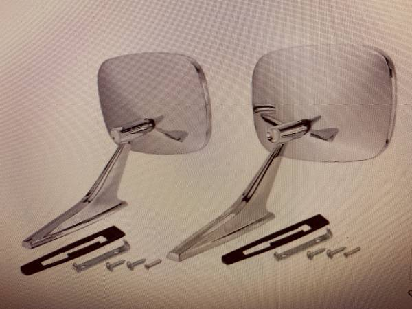 Photo Chevelle Side Mirrors - $65 (Palm City)