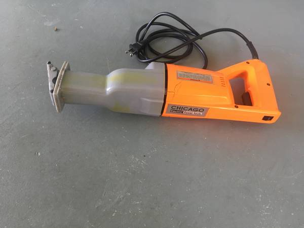 Photo Chicago Electric Power Tools Reciprocating Saw 4095 Variable Speed - $10 (Barefoot Bay, Micco)