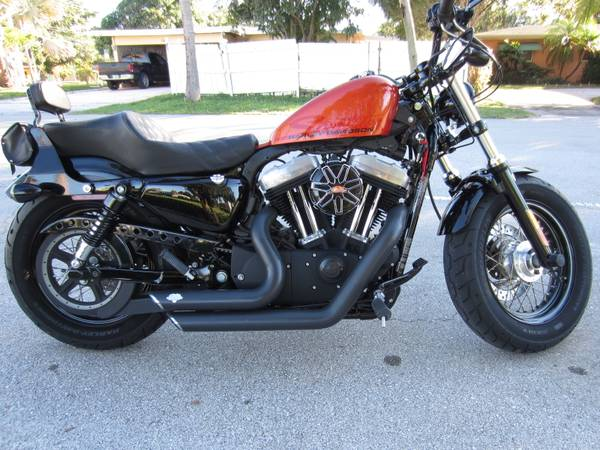 Photo HARLEY SPORTSTER 48 FORTY EIGHT YOU WANT ALL DONE CLEAN $$ - $5,700 (LAUDERDALE)