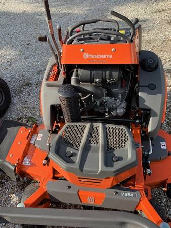 Photo Husqvarna V554 Stand on 54quot Commercial Mower - $7,200 (Stuart Lawn and Garden)