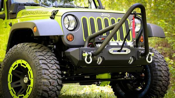 Photo Jeep Wrangler JK Custom Front Bumper - $350 (Jensen Beach)