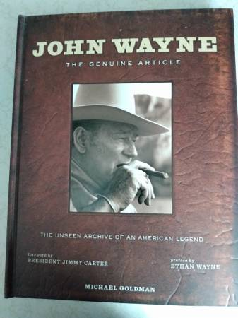 Photo John Wayne The Genuine Article - $25 (Vero Beach)