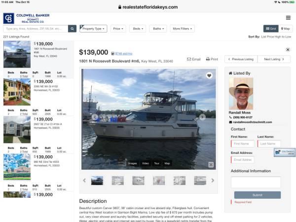 Photo Key West Slipleasehold Carver 3807 - $139,000 (Key West)