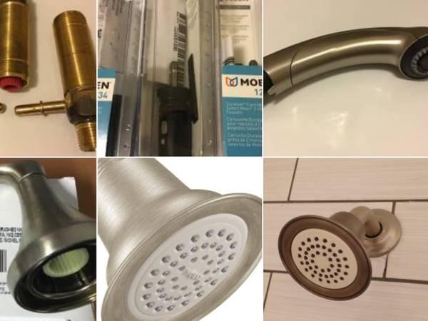 Photo Moen Shower Heads-SINK Bathroom Faucet Handle -Cartridges-Hot Valves-K - $20 (Jensen Beach)