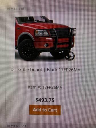 Photo New Ford Grill Guard 99-04 f150 - $350 (Okeechobee)