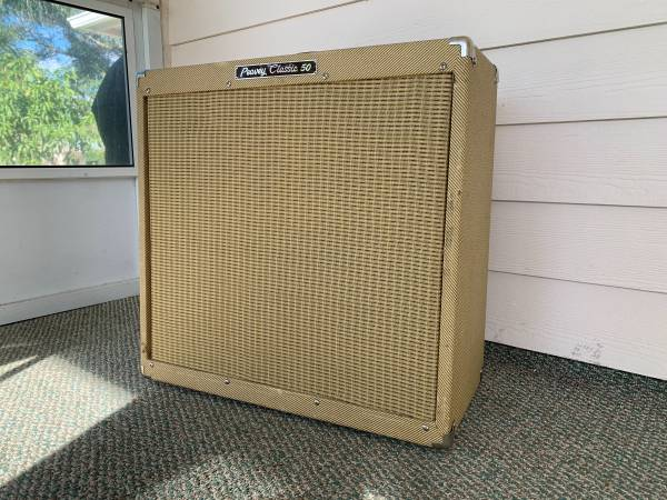 Photo Peavey Classic 50 - 50 watt, 2x12 inch speaker tube guitar  - $350 (Vero Beach)