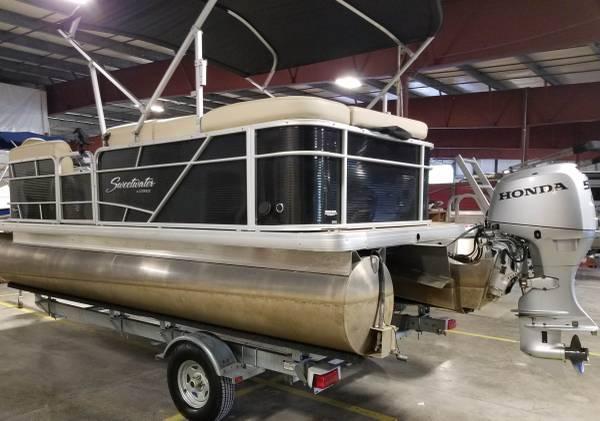 Photo Pontoon Boat For Sale - $20,000 (Port St Lucie)