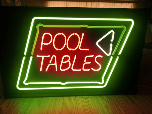 Photo Pool Tables Neon - $30 (Fort Pierce)
