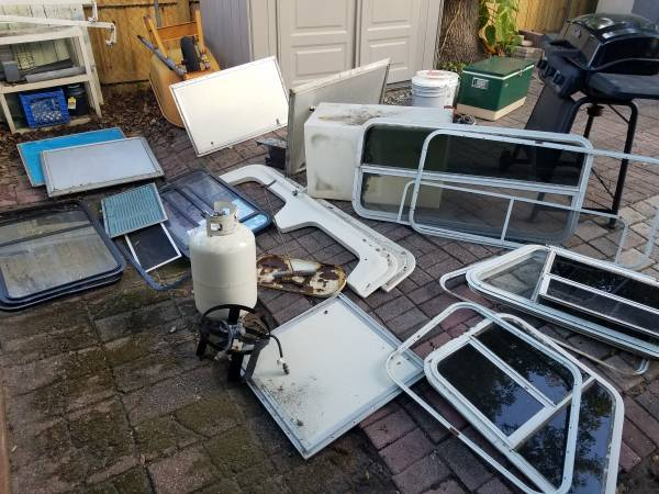 Photo Rv travel trailer parts for sale - $185 (Winter Park)