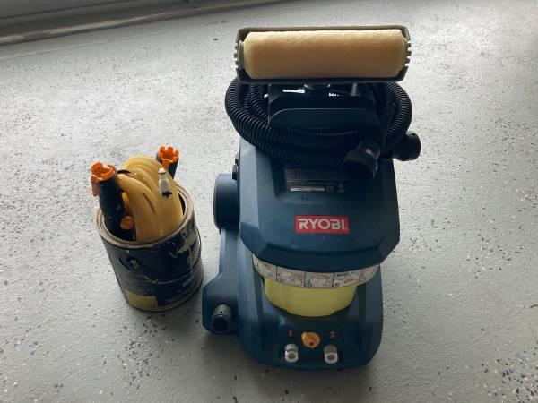 Photo USED RYOBI AUTO ROLLER PAINT SYSTEM - $50 (FORT PIERCE)