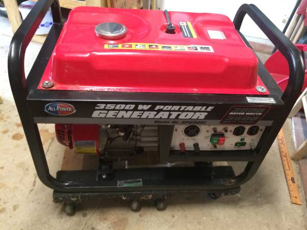 Photo US made 3500 generator - $325 (port st lucie)