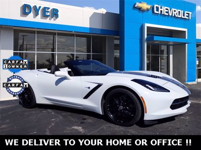 Photo Used 2016 Chevrolet Corvette Stingray Convertible for sale
