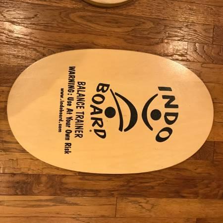 Photo Used Indo Board Original Balance Trainer, 5quot Roller  14quot Flow Cushion - $89 (Vero Beach)