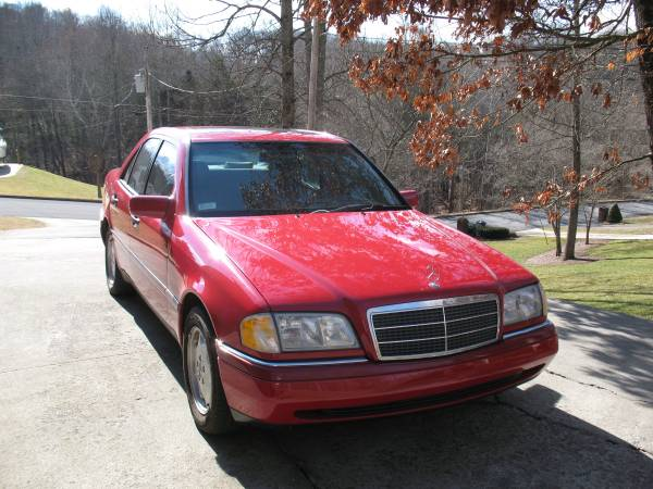 Photo 1997 Red C-280 Mercedes-Benz - $5,595 (Kingsport)
