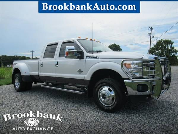 Photo 2016 FORD F350 SUPER DUTY LARIAT, White APPLY ONLINE-gt BROOKBANKAUTO.C - $46,433 (RAM CHEVY FORD DODGE JEEP)
