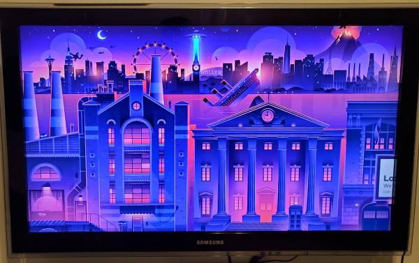 Photo 40quot Samsung HDTV - $100 (Johnson City)