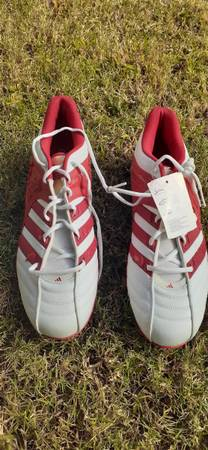 Photo Adidas Shoes - University Adidas Boot Size 11 - $20 (Murfreesboro)