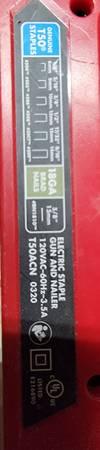 Photo Areow Electric Staple Gun and Nail Gun(brad nails) - $20 (Bluff City)