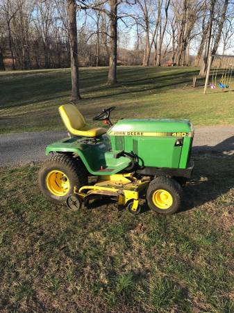 Photo John Deere 420 Honda engine 60 in deck - $2200 (Abingdon)
