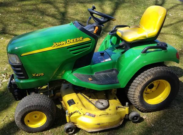 Photo John Deere X475 54 cut garden tractor - $3,500 (Lebanon, Virginia)
