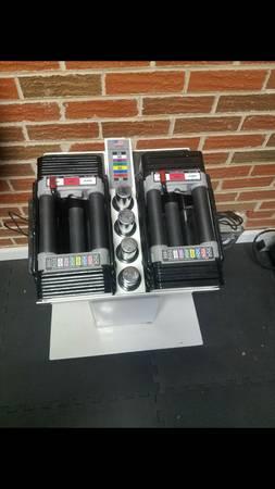 Photo Powerblock dumbbells - $800