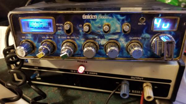 Photo Uniden Grant XL CB Radio with Power Supply - $150 (Hton)