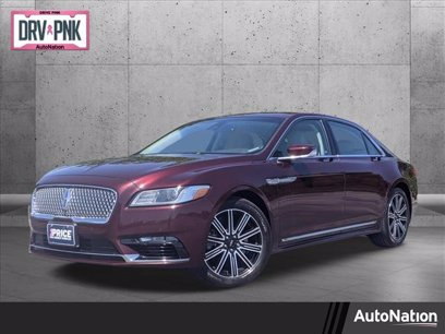 Photo Used 2017 Lincoln Continental AWD Reserve for sale