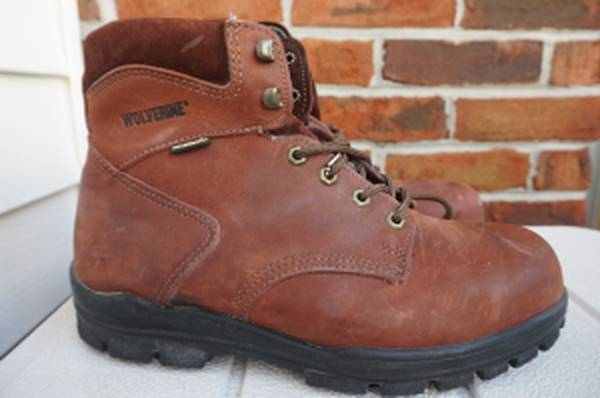 Photo Wolverine Durashocks EH 03054 Mens Brown Work Boots Size 9 - $45 (Kingsport)