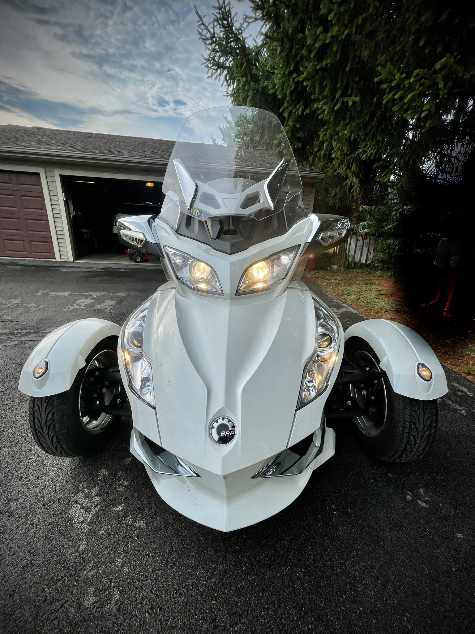 Photo Used 2012 Can-Am Trike Motorcycle  $15999