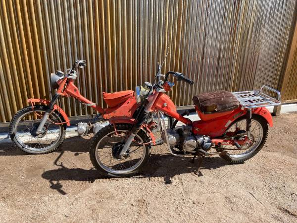 Photo 1979 1980 Honda CT90 Trail 90 - Project or Parts Bikes - $600 (U of A)
