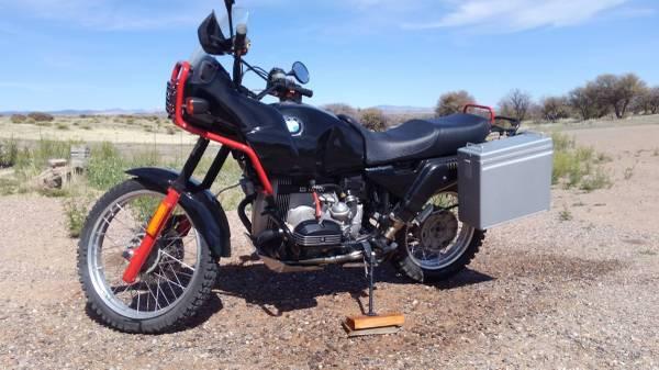 Photo 1991 BMW R100GS - $4500 (Silver City NM)