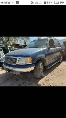 Photo 2000 Ford Expedition part out - $999 (Tucson)