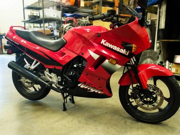 Photo 2001 Kawasaki Ninja 250R - $1,900 (Tucson)
