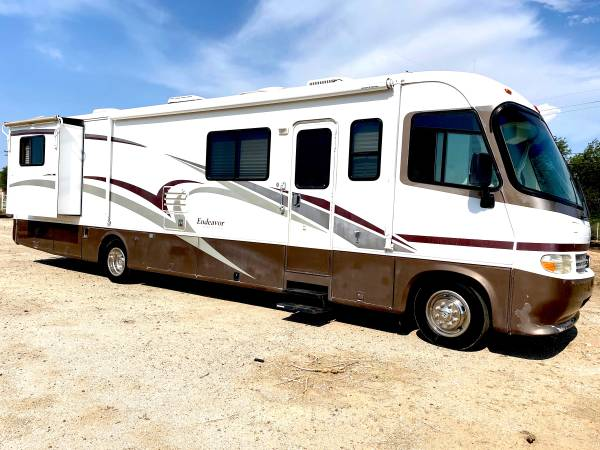 Photo 2001 holiday rambler double slide 42,000 miles original - $18,500