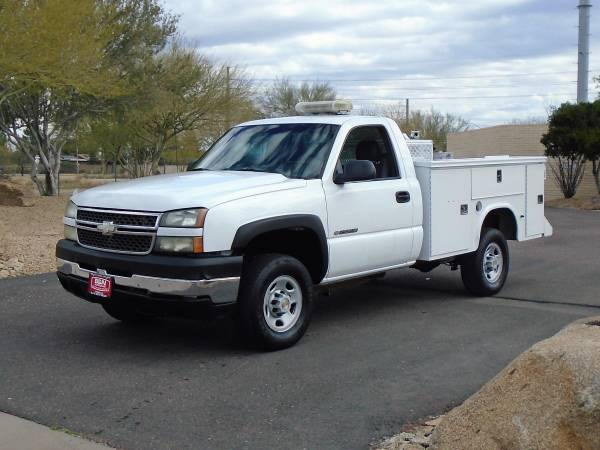 Photo 2005 CHEVROLET 2500 SERVICE BODY UTILITY BED WORK TRUCK - $6995 (Phoenix)