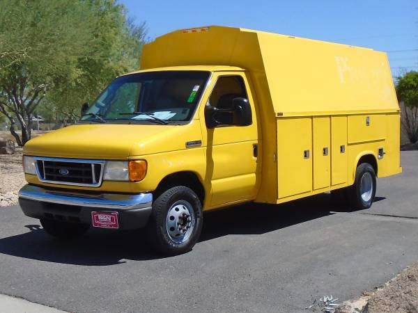 Photo 2006 FORD E-450 KUV CARGO VAN WORK TRUCK UTILITY BED - $9,995 (Phoenix FREE DELIVERY ANYWHERE IN ARIZONA)