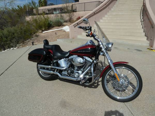Photo 2006 Harley Softail Deuce FXSTDI - $6,900 (Northeast Tucson)