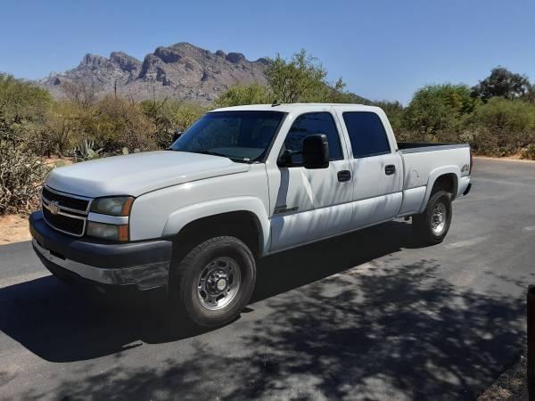 Photo 2007 Silverado 2500hd 4X4 - $18,000 (oro valley)
