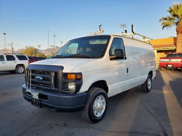 Photo 2011 Ford E-150 Cargo Van...................WE FINANCE............... - $10,995 (CAR WORLD 3400 North Oracle Road, Tucson, AZ 85705)