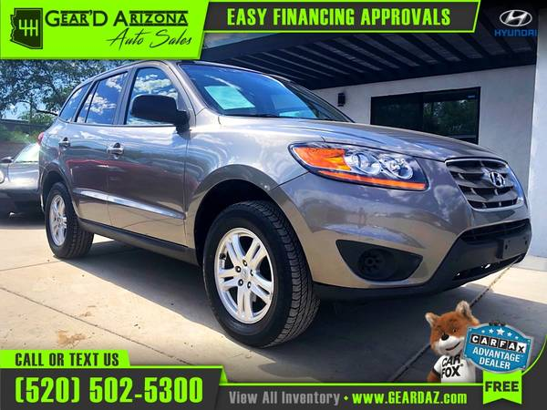 Photo 2011 Hyundai Santa Fe for $7,199 or $111 per month - $7,199 (GearD Arizona - Tucson)