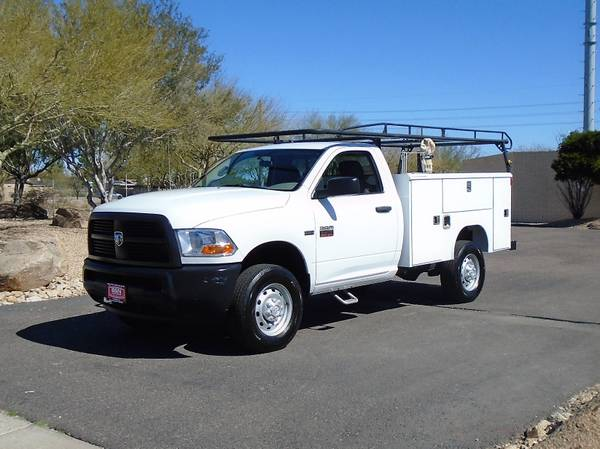 Photo 2012 DODGE 2500 4X4 SERVICE BODY UTILITY BED WORK TRUCK 54K MILES - $19995 (PHOENIX FREE SHIPPING TO TUCSON)