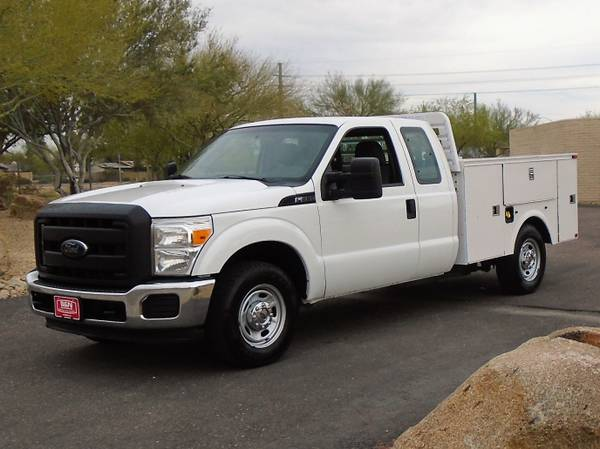 Photo 2012 FORD F250 XL EXTRA CAB SERVICE BODY UTILITY BED WORK TRUCK - $8995 (Phoenix FREE DELIVERY ANYWHERE IN ARIZONA)