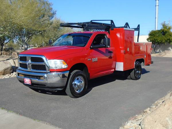 Photo 2013 DODGE 3500 SERVICE BODY UTILITY BED WORK TRUCK - $15995 (Phoenix)