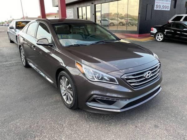 Photo 2015 HYUNDAI SONATA SPORT 86K BACK UP CAMERA SPOILER PRISTINE COND. - $10,990 (BAD CREDIT WE CAN HELP JQ MOTORSPORTS 7095 E 22ND ST TUCSON)