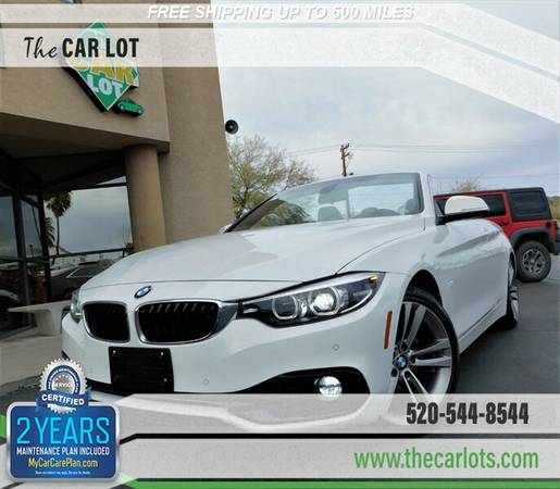 Photo 2018 BMW 430i Convertible Hardtop CLEAN  CLEAR CARFAX......Loaded - $29,995