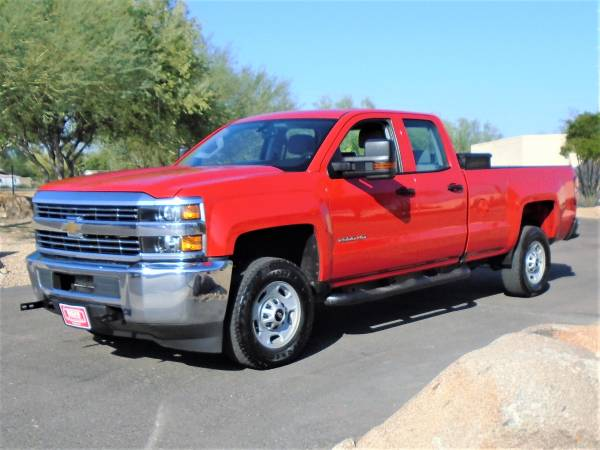 Photo 2018 CHEVY SILVERADO 2500 QUAD CAB LONG BED WORK TRUCK WITH TOOL BOX - $19,995 (Phoenix FREE DELIVERY ANYWHERE IN ARIZONA)