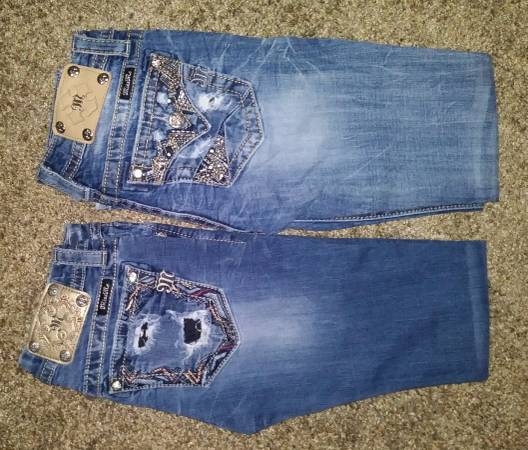 Photo 2 PAIR TEEN MISS ME JEANS (WAIST SIZE 26) - $10 (Golf Links and Pantano)