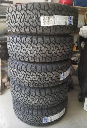 Photo 5 New tires 26570r17 Bf Goodrich, KO2 All Terrain 17 inch - $650 (Tucson)