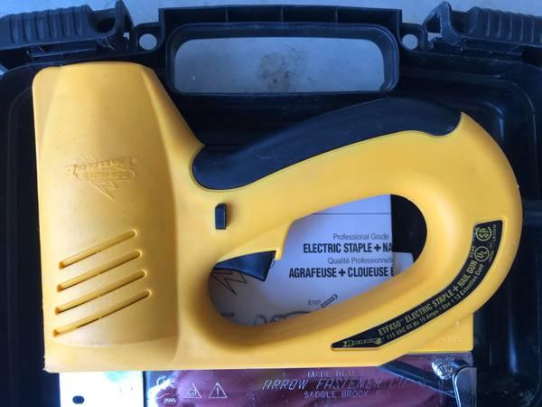 Photo Arrow Electric Stapler  Nail Gun - $25