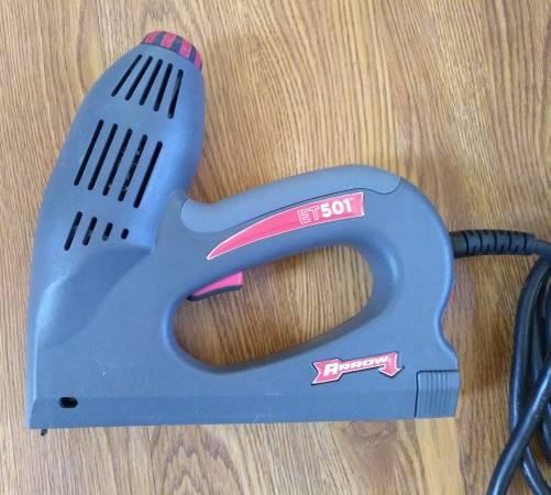 Photo Arrow electric staple and nail gun (Tucson)